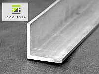 Уголок алюминиевый 20 х 20 х 1.5 мм АД31