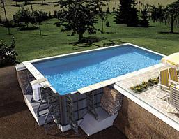 Комплект пластикового басейну BWT P-PSC 6.5 х 3.5 x 1.5 (30906102)