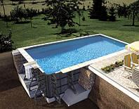 Комплект пластикового басейну BWT P-PSC 8.5 х 4.5 x 1.5 (30906302), фото 1