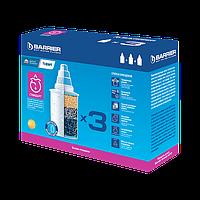 """Комплект касет для фільтрів-глечиків BARRIER """"стандарт"""" (х3) (CRVK3BAR4)"""