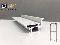 Алюминиевый профиль коробки двери скрытого монтажа