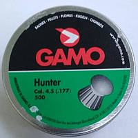 Пули GAMO Hunter 500 шт.кал. 4.5, 0.49 гр.