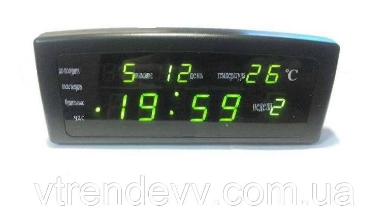 Часы будильник настольные электронные Caixing CX868