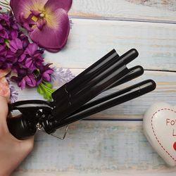 Тройная плойка для волос PRO Mozer MZ-6621