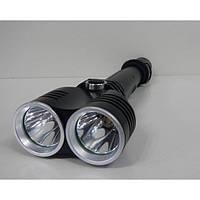 Мощный подствольный фонарь с двумя рефлекторами Bailong Police BL-Q2822-2хT6