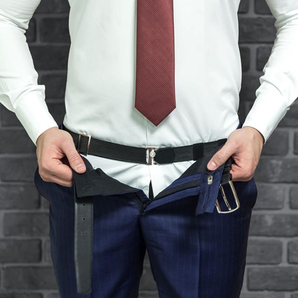 Регулируемый держатель для рубашки Shirt Tucker № BL200, черный
