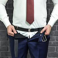 Регулируемый держатель для рубашки Shirt Tucker № BL200, черный, фото 1