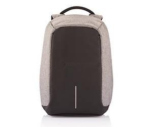 """Міський рюкзак для ноутбука XD Design Bobby XL протикрадій 17"""" Сірий (P705.562)"""