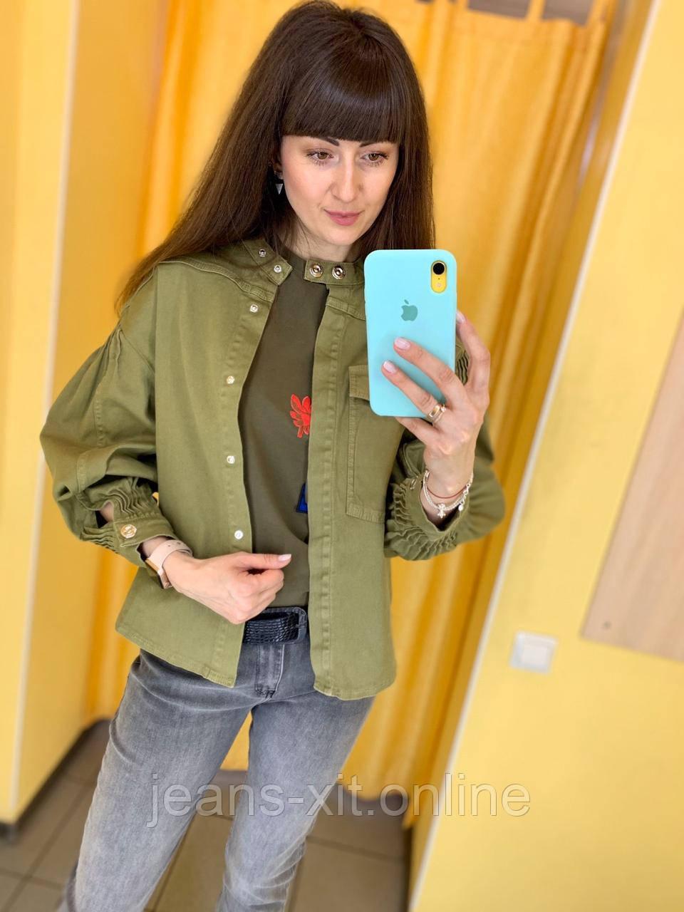 Куртка жіноча L(р) хакі 4905 Speedway Туреччина Весна-C
