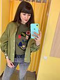 Куртка жіноча L(р) хакі 4905 Speedway Туреччина Весна-C, фото 2