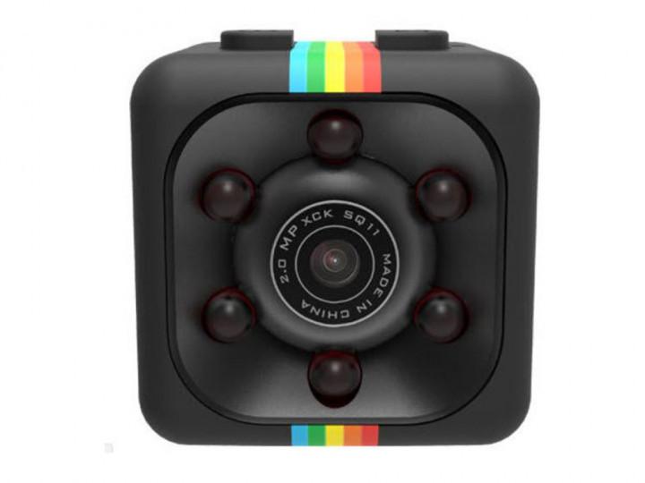 Многофункциональная мини экшн-камера с функцией видеорегистратора SQ11