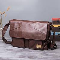 Мужская кожаная сумка. Модель 61234, фото 9