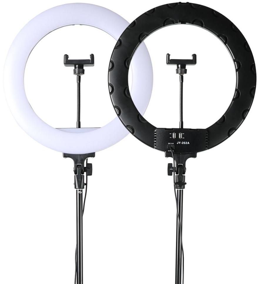 Комплект JY-252A Кільцева LED лампа 36 см + Штатив 210 см
