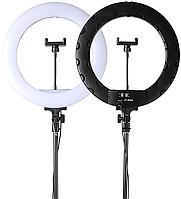 Комплект JY-252A Кільцева LED лампа 36 см + Штатив 210 см, фото 1