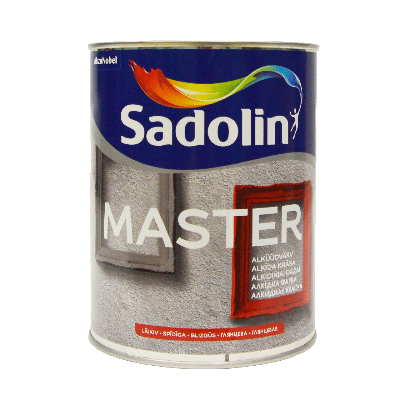 Глянцевая универсальная эмаль Sadolin MASTER 90 Белый BW