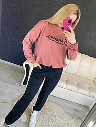 Спортивный костюм Бананас, 44-48 розовый+синий