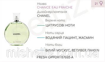 Концентрат FRESH OPPORT (105гр) (Альтернатива Chanel Chance Eau Fraiche)