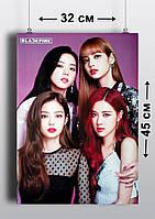 Плакат А3, Black Pink 1