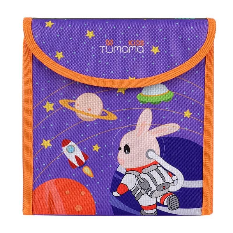 Многоразовая раскраска в чехле с фломастерами в наборе Tumama. Космос.