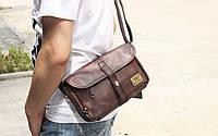 Мужская кожаная сумка. Модель 61236, фото 9