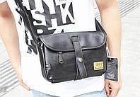 Мужская кожаная сумка. Модель 61236, фото 10