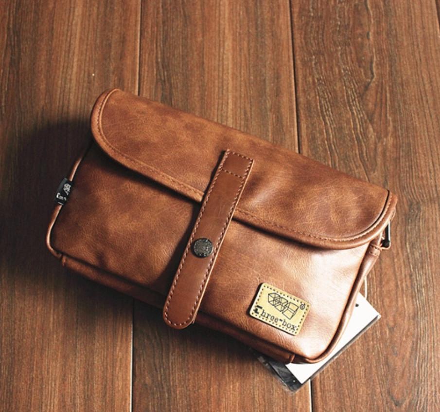 Мужская кожаная сумка. Модель 61236