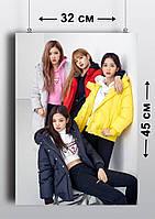 Плакат А3, Black Pink 2