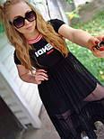 Легкое платье с фатином Fendi, фото 8