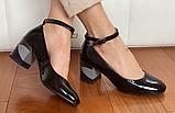 Туфлі жіночі INSHOES чорні, фото 3