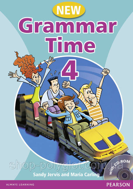 Grammar Time 4 New Edition Students' Book + CD