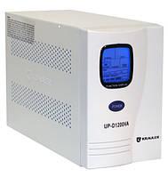 Источник бесперебойного питания KRAULER UP-D1200VA,без аккумулятора