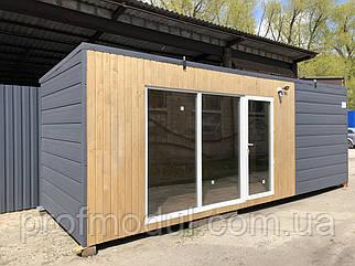 Модульный домик 7*2.4м