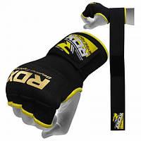 Бинт-перчатка RDX Inner Gel Black L