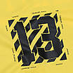 Футболка мужская желтая с принтом OFF-WHITE №13 Ф-10 YEL L(Р) 19-651-020-001, фото 2