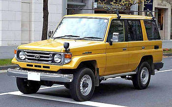 Toyota Land Cruiser 1984-1996 (J70) твердый верх