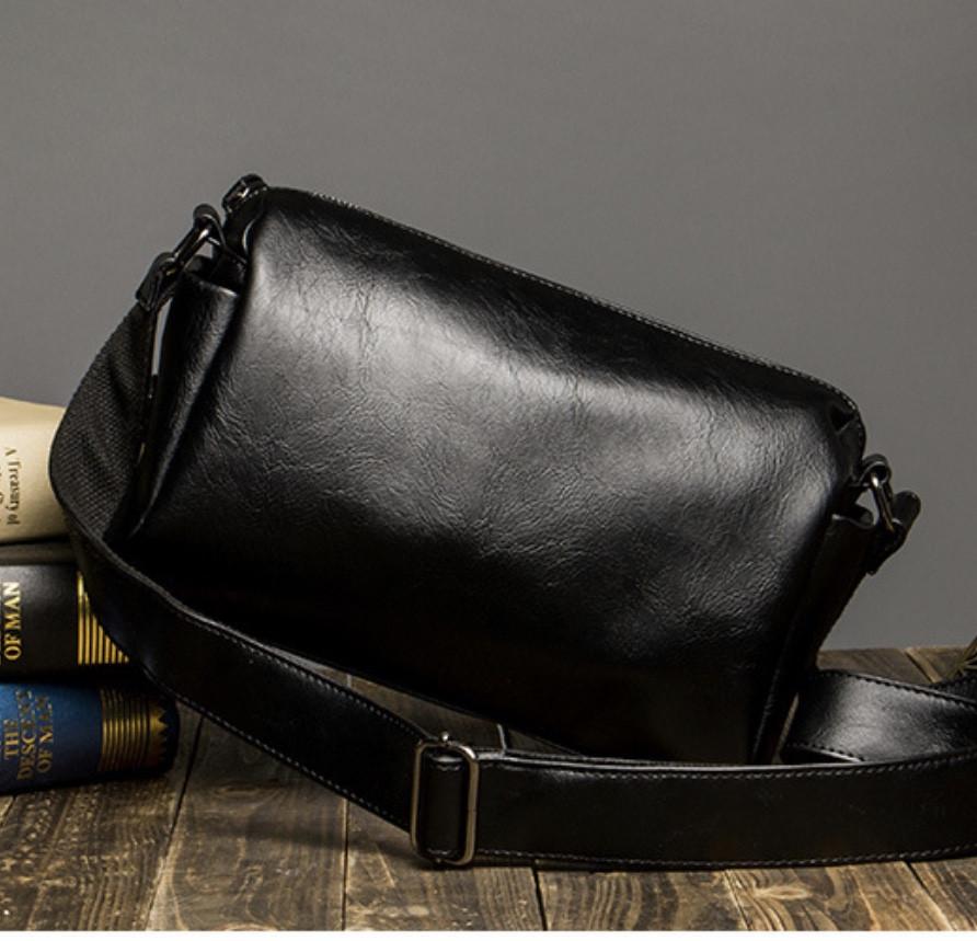 Мужская кожаная сумка. Модель 61237