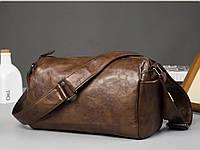 Мужская кожаная сумка. Модель 61237, фото 10