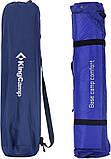 Самонадувний килимок KingCamp Base Camp XL(KM3559) (navy blue), фото 3