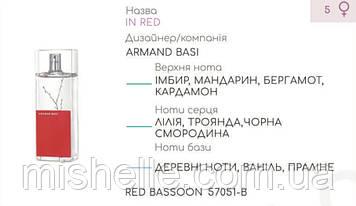 Концентрат для духов RED BASSOON (100гр) (Альтернатива Armand Basi In Red)