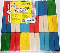 Брусочки Разноцветные (36 Деталей)