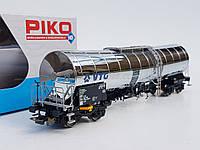 "Piko 54760 модель 4х осной хромированой цистерны "" KVG "", DB, масштаба 1:87,H0, фото 1"