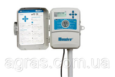 Контролер автополиву Х2 Hunter з підключенням до Wi-Fi