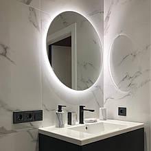 Кругле дзеркало з Led підсвіткою 600 мм / Круглое зеркало с Led подсветкой 600 мм