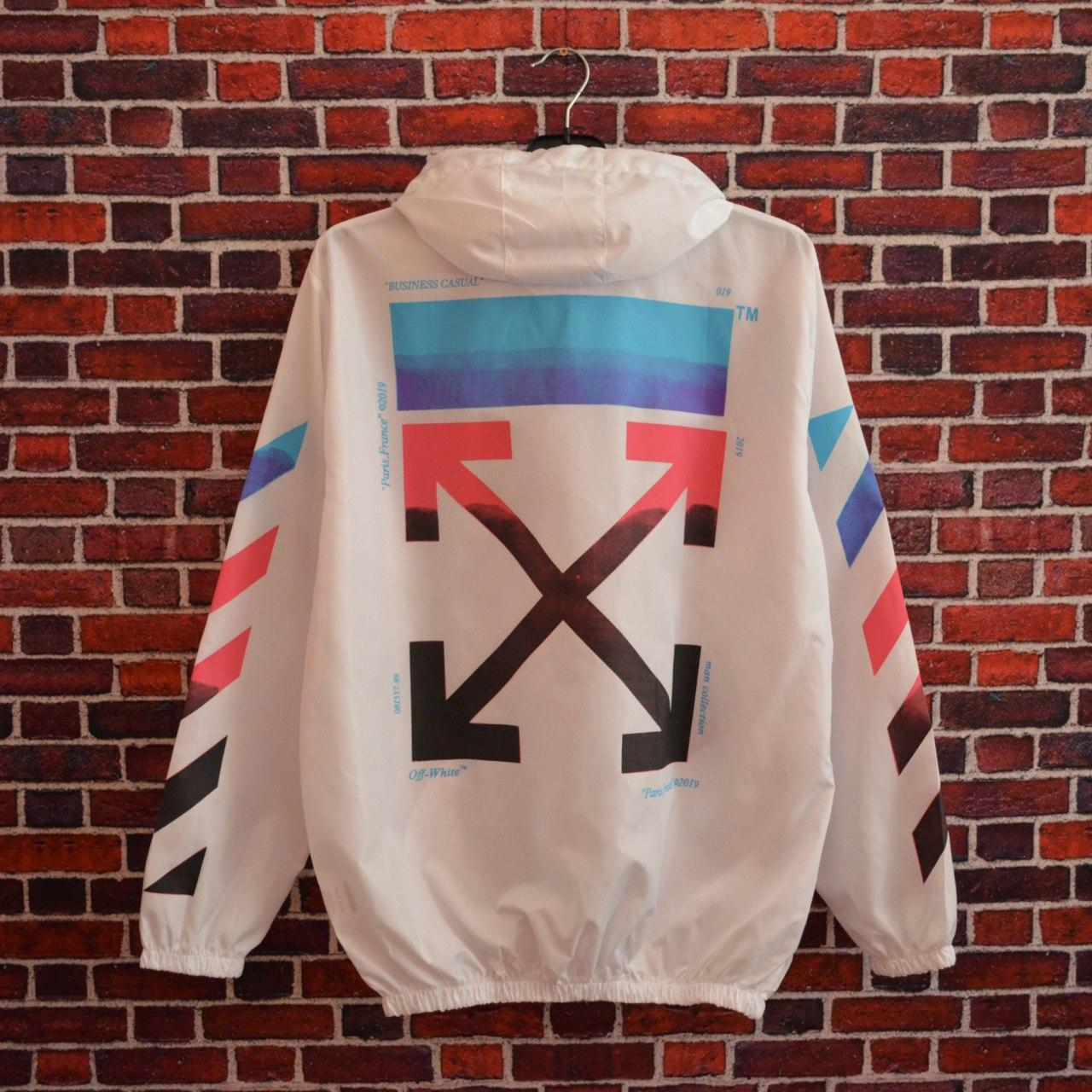 Ветровка Off-White business casual White