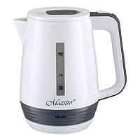 Электрочайник Maestro белый MR-033 (1.7 л, 2200 Вт) | электрический чайник Маэстро, чайник Маестро