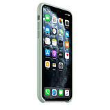 Силиконовый чехол для iPhone 11 Pro / 11 Pro Max, цвет «голубой берилл», фото 6