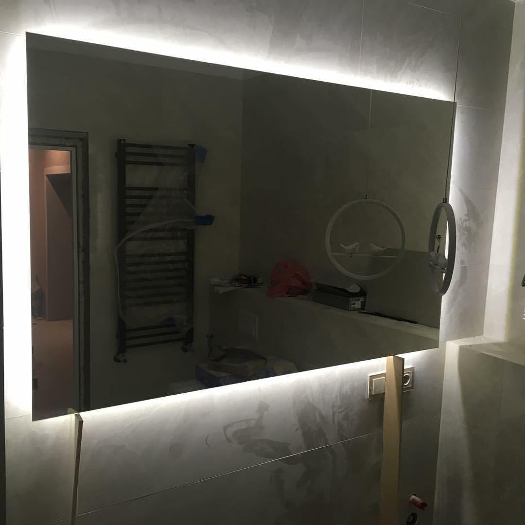 Дзеркало з Led підсвіткою 500 x 1000 мм / Зеркало с Led подсветкой 500 x 1000 мм
