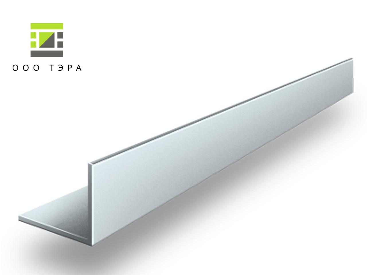Профиль алюминиевый уголок 50 х 50 х 3 мм АД31 равносторонний 6060 Т6