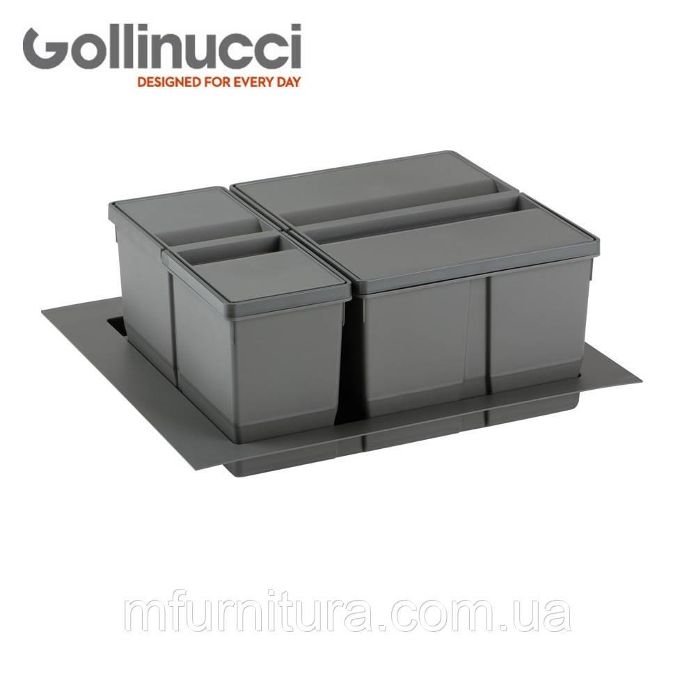 Мусорное ведро (Контейнер 9XL) (60 см), (26+11л)