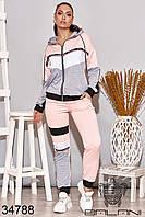 Женский стильный спортивный костюм NEW! 48-50 52-54